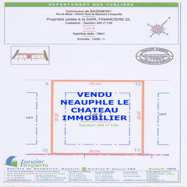 Offres de vente Terrain Bazemont 78580